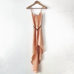 Zara High Low Maxi Dress